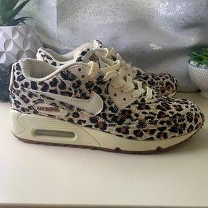 Nike Air Max 90 2014 edition leopard print.